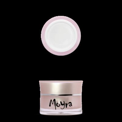 Moyra körömépítő zselé Milky White 30g