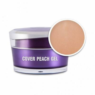 Cover Peach Gel - Körömágyhosszabbító zselé 30g