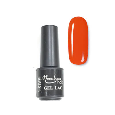 Moonbasanails 3 step lakkzselé 4ml #08 Narancsos piros