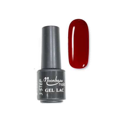 Moonbasanails 3 step lakkzselé 4ml #10 Bordó