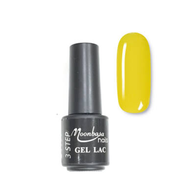Moonbasanails 3 step lakkzselé 4ml #104 Citromsárga