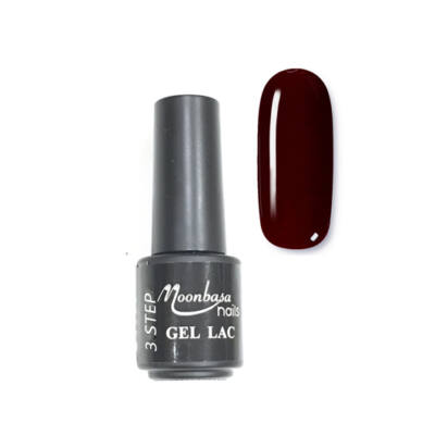 Moonbasanails 3 step lakkzselé 4ml #13 Sötét bordó