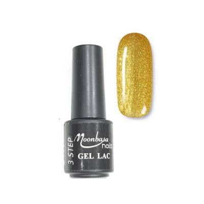 Moonbasanails 3 step lakkzselé 4ml #137 Csillámos arany