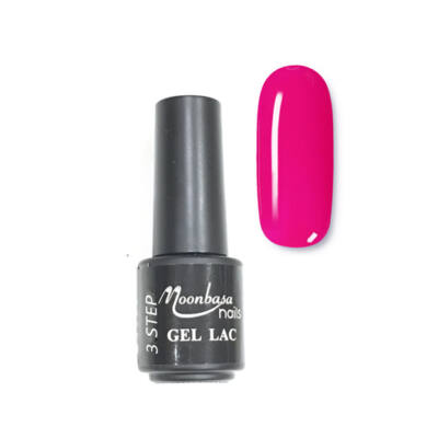 Moonbasanails 3 step lakkzselé 4ml #40 Neon pink