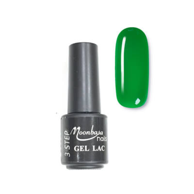 Moonbasanails 3 step lakkzselé 4ml #64 Sötét zöld