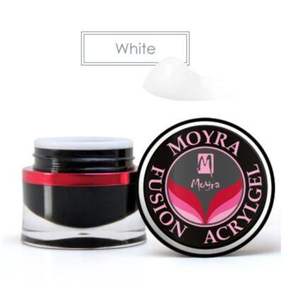 Moyra Fusion Acrylgel tégelyes 30ml White