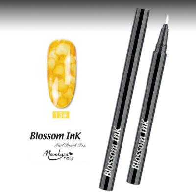 Blossom Ink - Nail art Brush - Festék ecset  #13 Sárga