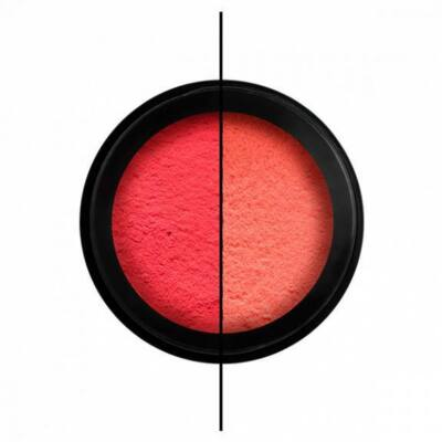 Körömdíszítő Thermo por - Red/Neon peach - Perfect Nails