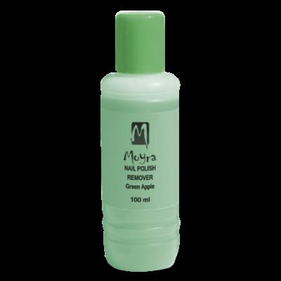Moyra acetonmentes körömlakklemosó (Zöldalma illatú)  100ml