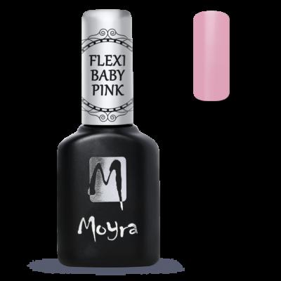 Moyra Lakkzselé Flexi Base - Fiber Baby Pink