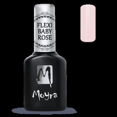 Moyra Lakkzselé Flexi Base - Fiber Baby Rose