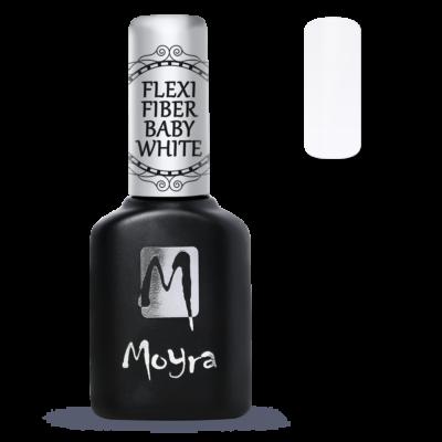 Moyra Lakkzselé Flexi Base - Fiber Baby White