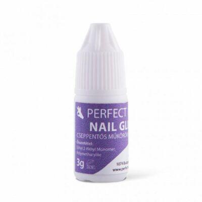 Műköröm Tip Ragasztó - Csőrös 3g - Perfect Nails