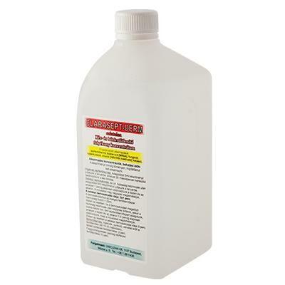 Clarasept Derm- higiéniás kéztisztító és fertőtlenítő koncentrátum 1000ml