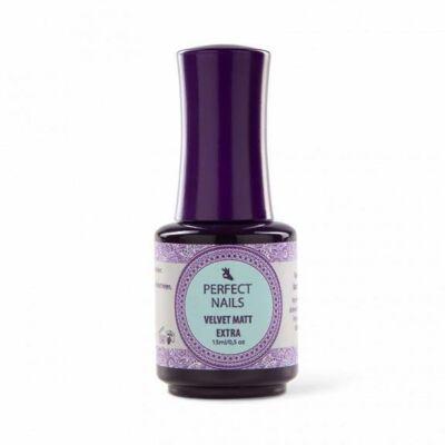 Velvet Matt Top Extra - Matt Fényzselé 15ml Perfect Nails