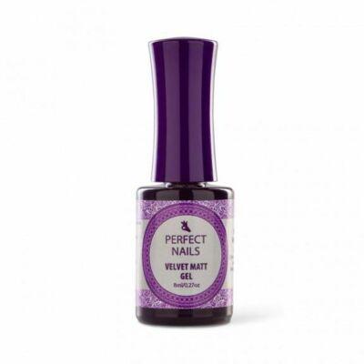 Velvet Matt Top Gel - Matt Fényzselé 8ml Perfect Nails