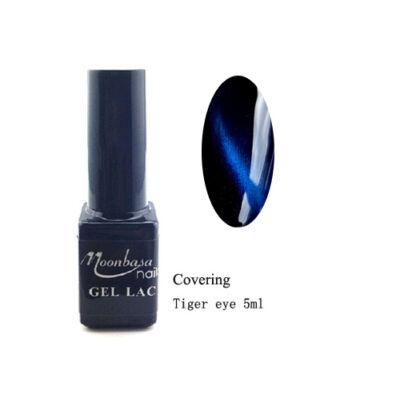 Moonbasanails Tiger eye Covering géllakk #854