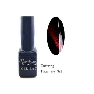 Moonbasanails Tiger eye Covering géllakk #855