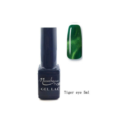 Moonbasanails Tiger eye géllakk #813