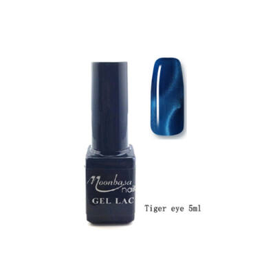 Moonbasanails Tiger eye géllakk #817