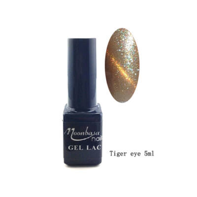 Moonbasanails Tiger eye géllakk #832