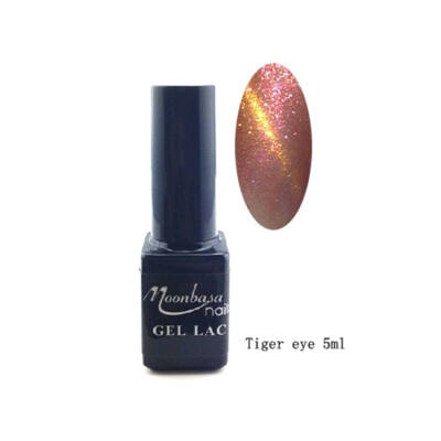 Moonbasanails Tiger eye géllakk #836