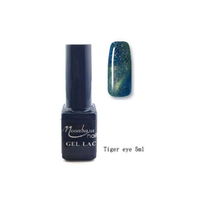 Moonbasanails Tiger eye géllakk #843