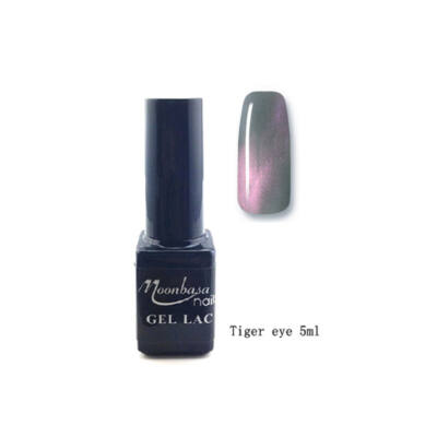 Moonbasanails Tiger eye géllakk #848
