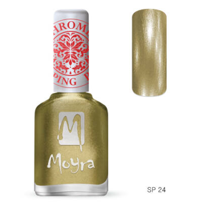 Moyra nyomdalakk Chrome SP24 Gold