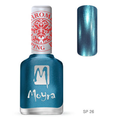 Moyra nyomdalakk Chrome SP26 Blue