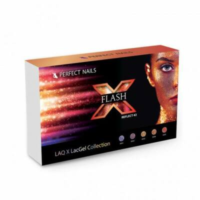 LacGel Laq X - Flash Reflect #2 Gél Lakk Szett