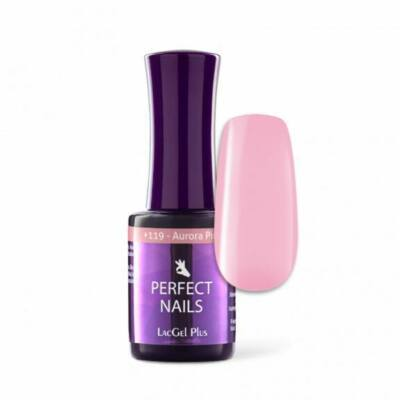 LacGel Plus +119 Gél Lakk 8ml  - Aurora Pink - Cupcake
