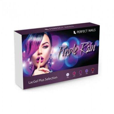 LacGel Plus - Purple Rain Gél Lakk szett - Perfect Nails