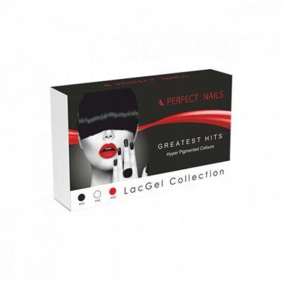 Perfect Nails Greatest Hits Color Lacgel Collection Gél Lakk készlet