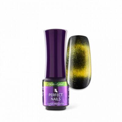 Perfect Nails LacGel Cat Eye c020 4ml Gél Lakk - Cyber - 9D
