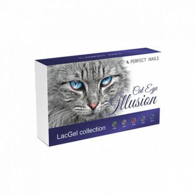 Perfect Nails Cat Eye Illusion Gél lakk szett