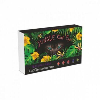 LacGel Cat Eye Jungle Gél Lakk szett Perfect Nails