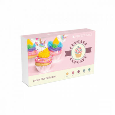 LacgelPlus Cupcake Gél Lakk szett 5x8ml Perfect Nails