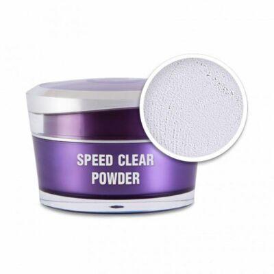 Műkörömépítő porcelán por - Speed clear powder 5ml Perfect Nails
