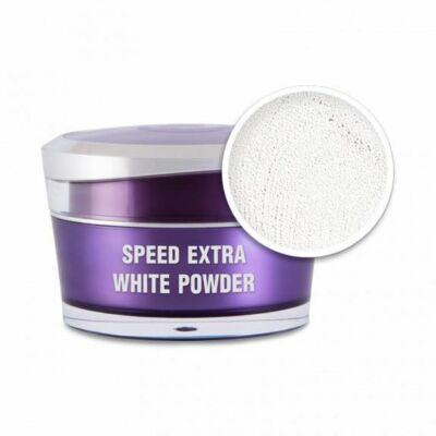 Műkörömépítő porcelán por - Speed extra white powder 5ml Perfect Nails