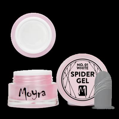 Moyra Spider Gel No. 01 Fehér