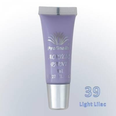 Profinails Akrilfesték 8ml No. 39 Light lilac
