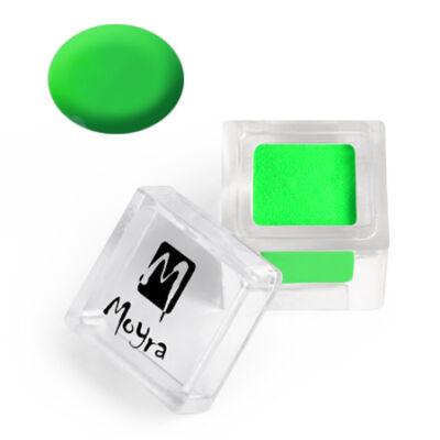 Moyra színes porcelánpor 29 Neon zöld