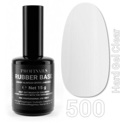 Profinails Rubber Base LED/UV Alapozó építőzselé 15g No. 500