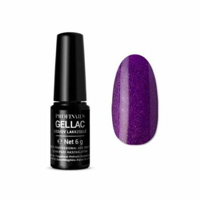 Profinails UV/LED gèllakk No 33 Csillámos sötét lila