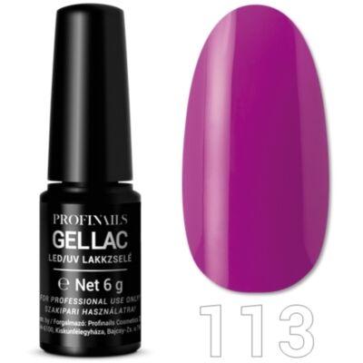 Profinails UV/LED gèllakk No 113 Élénk lila