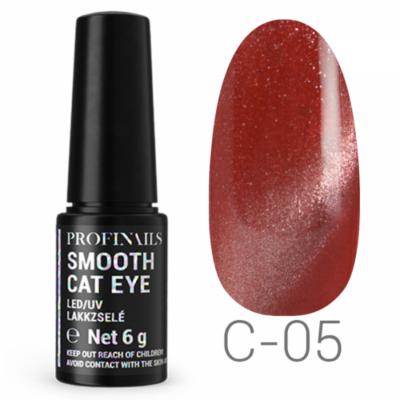 Profinails Smooth Cat Eye LED/UV lakkzselé 6gr C-05