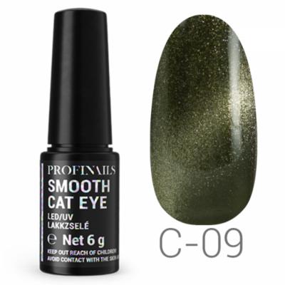 Profinails Smooth Cat Eye LED/UV lakkzselé 6gr C-09