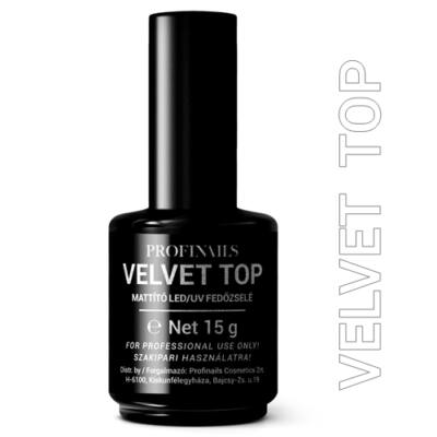 Profinails Velvet top LED/UV Mattító fedőzselé 15g