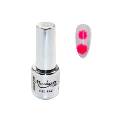 Moonbasanails Snow Ice Géllakk #731 Neon pink